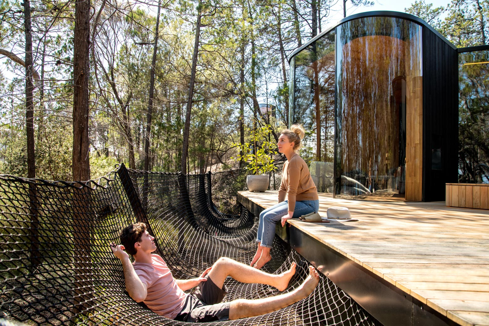 Stay at the Freycinet Lodge - Coastal Pavilion on your Lap of Tasmania road trip
