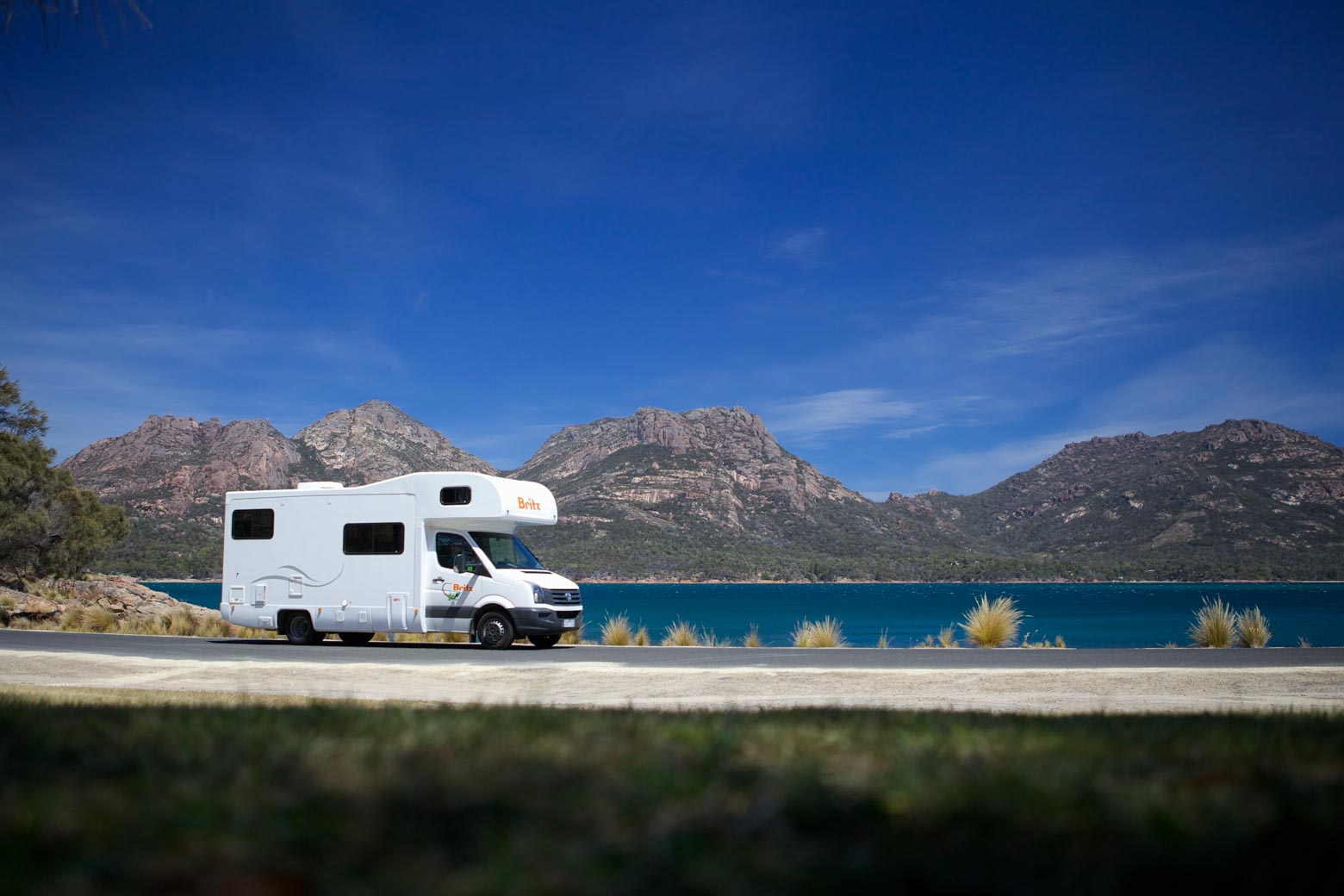 Tasmania campervan hire on your Lap of Tasmania road trip