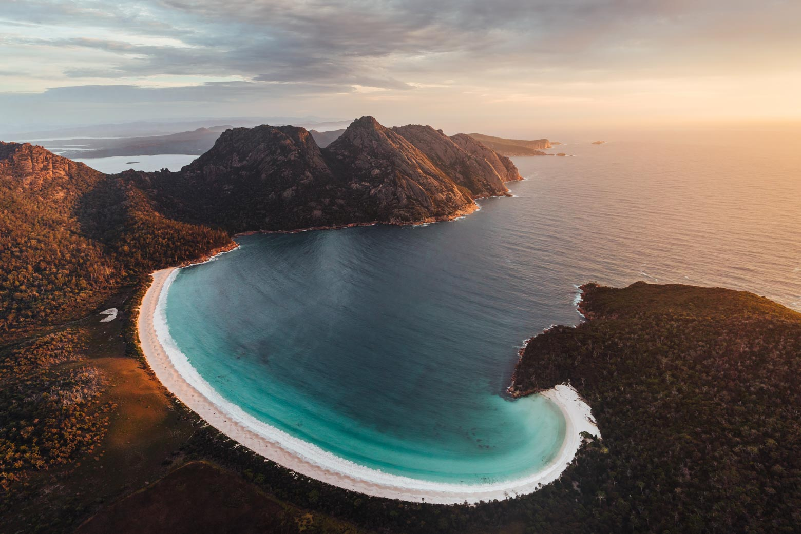 Wineglass Bay - One of the best Tasmania beaches