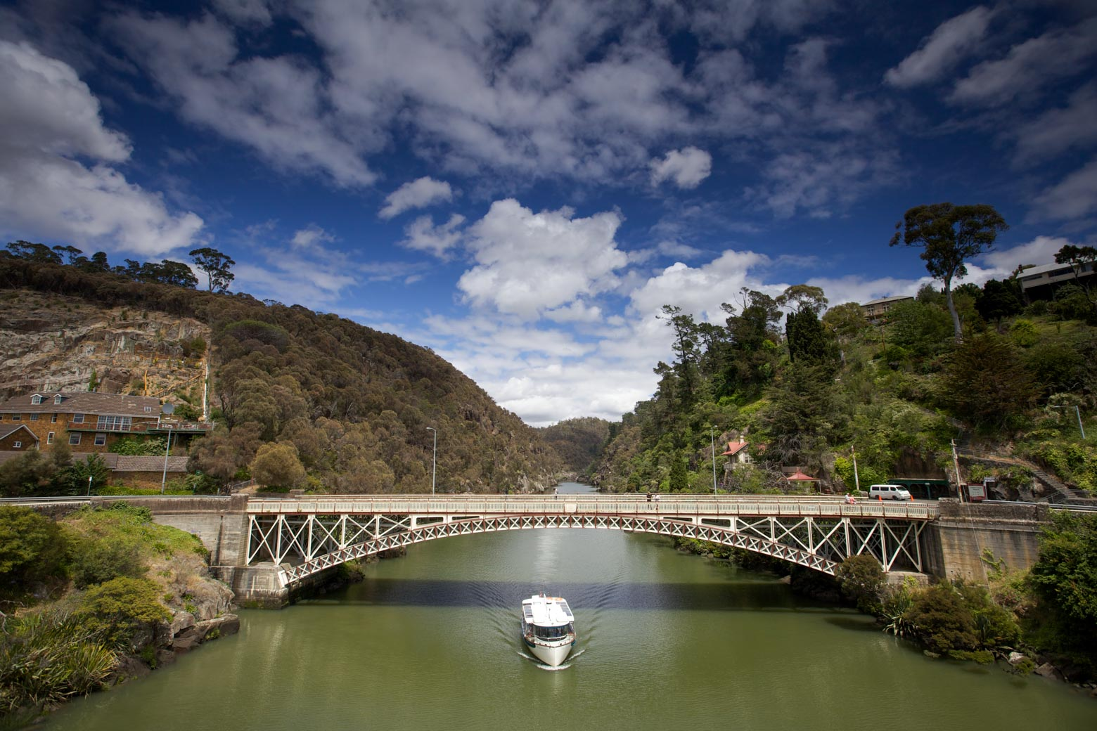 Visit Cataract Gorge Reserve on your Lap of Tasmania road trip