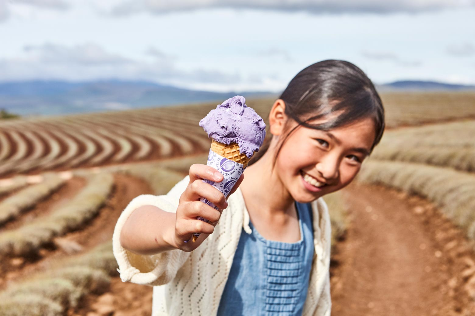 Try the ice cream at Bridestowe Lavender Estate on your Lap of Tasmania road trip