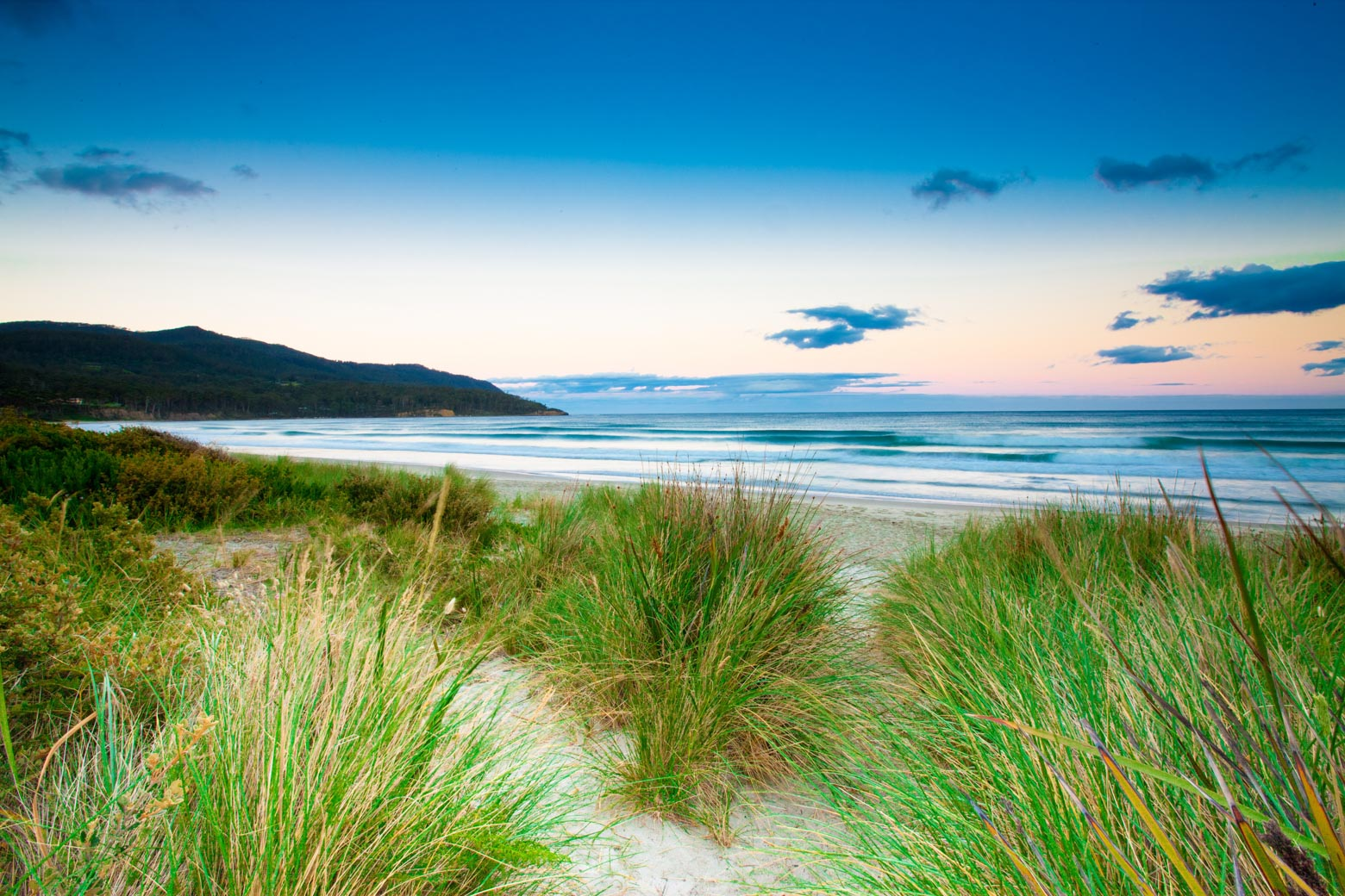 Stop at Eaglehawk Neck beach on your Tasman Peninsula road trip