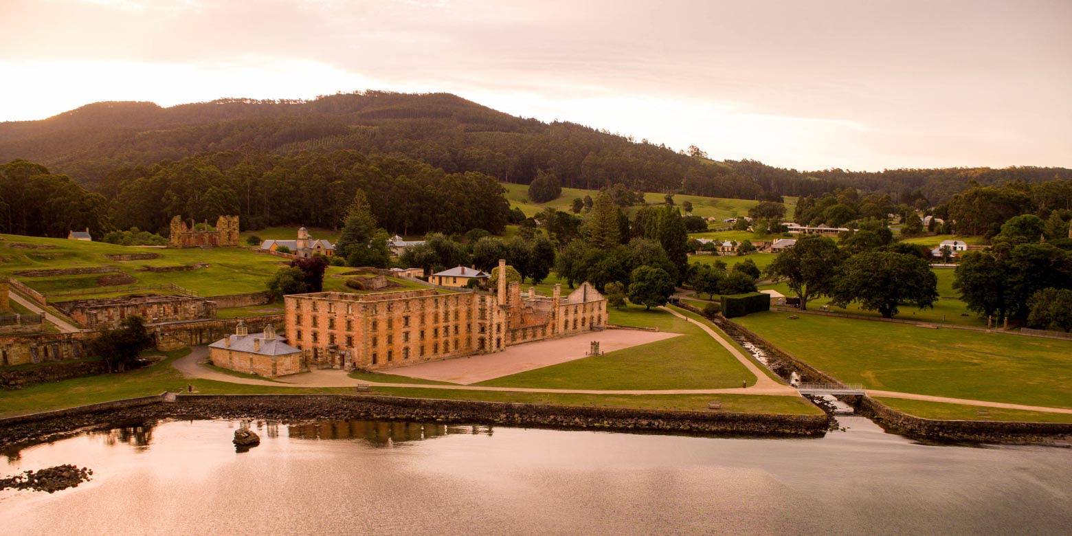 Learn about the history of Port Arthur Historic Site on your Lap of Tasmania road trip