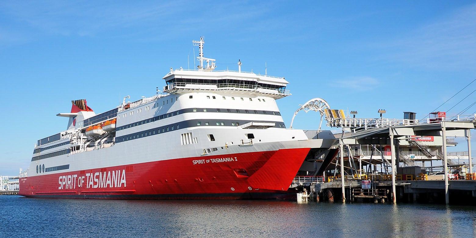 Spirit of Tasmania Ferry to Tasmania
