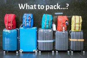 Lap of Tasmania road trip packing list