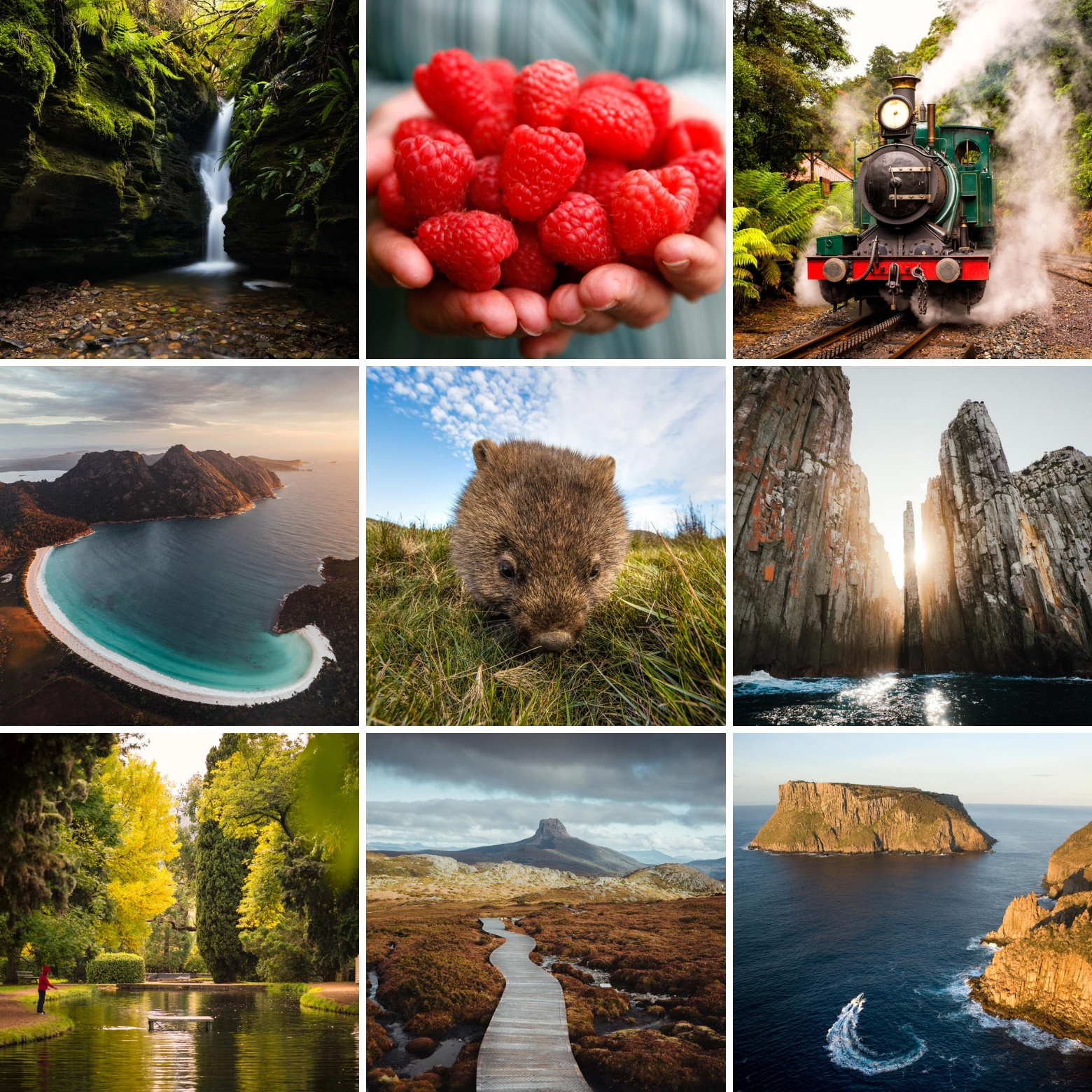Variety of things to do on your Tasmania road trip