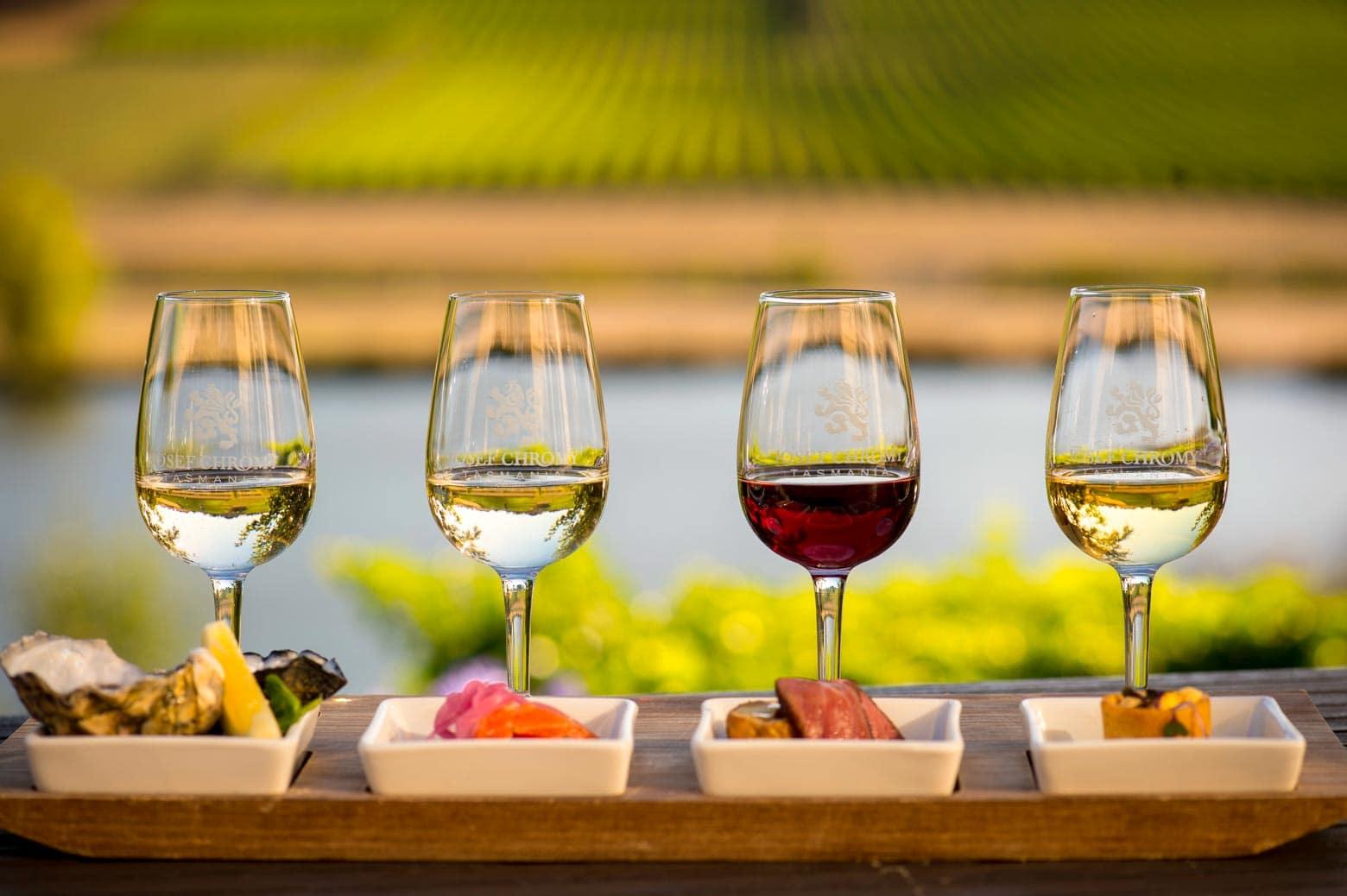 Cool-climate wines at Josef Chromy Tasmania - Tasmania Road Trip
