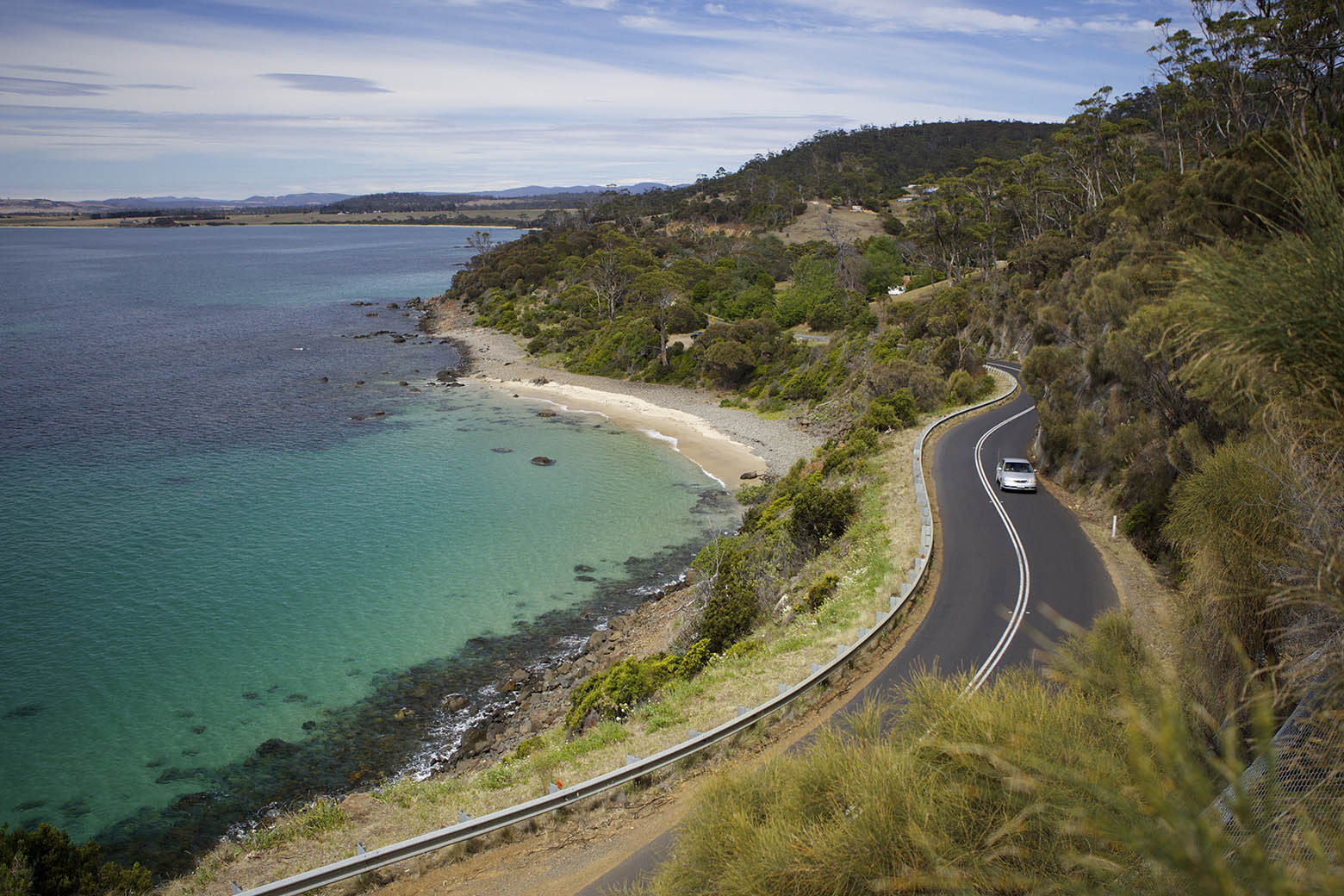 A Tasmania road trip is full of sweeping bends