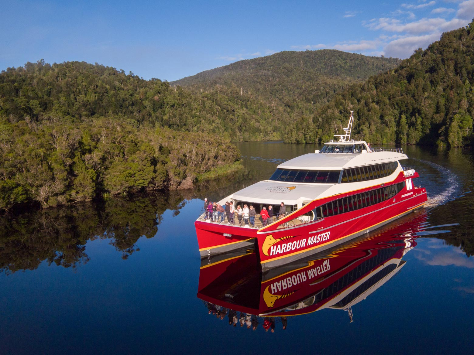 World Heritage Cruises on Macquarie Harbour - Tasmania Road Trip