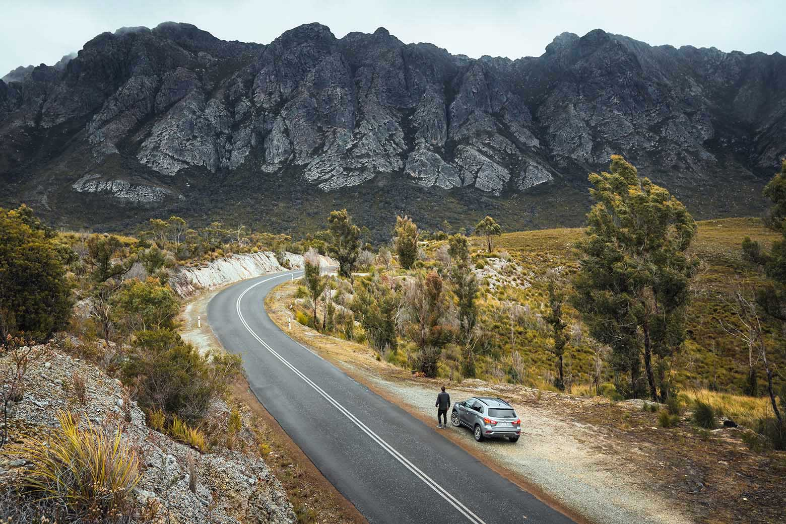 Road to the Sentinel Range - Tasmania itinerary (7 days)
