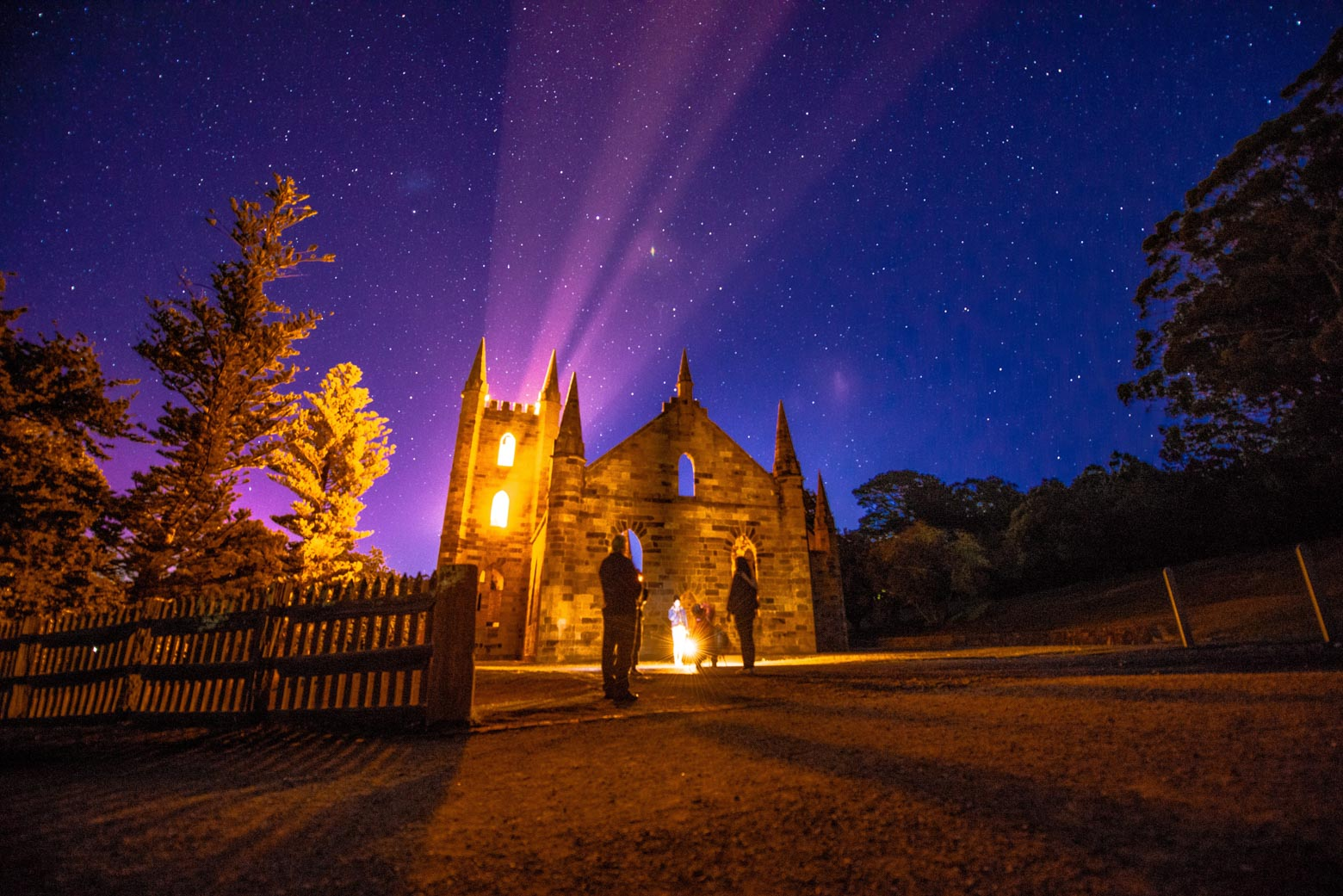 Include a ghost Tour at Port Arthur Historic Site in your Tasmania itinerary (7 days)