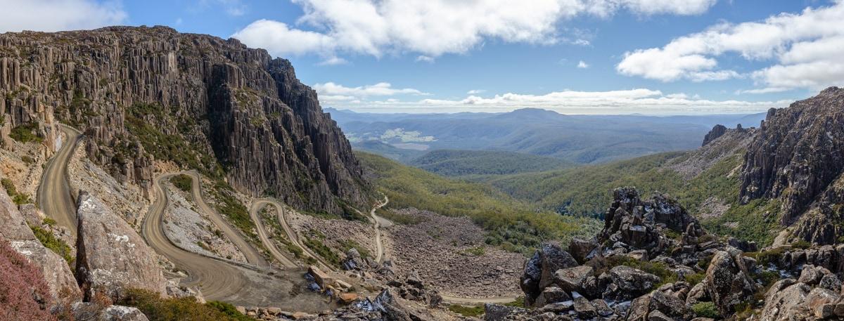 Jacobs Ladder - Ben Lomond National Park - Lap of Tasmania Road Trip