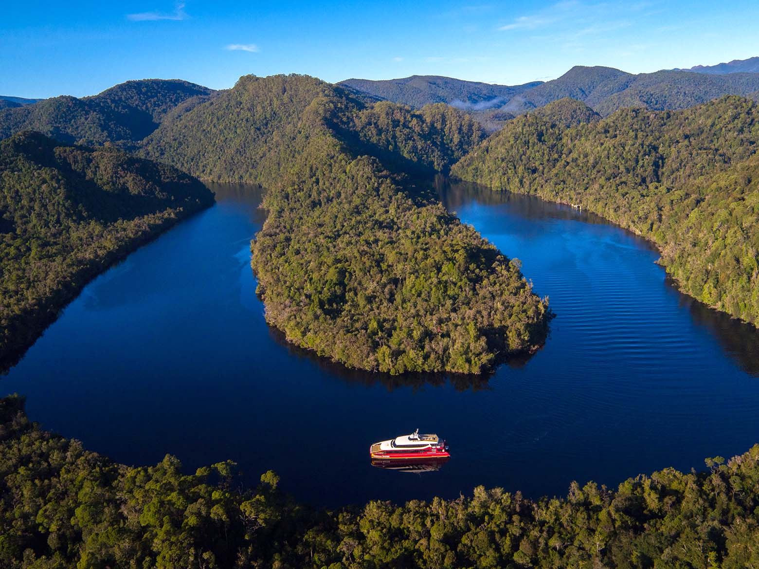 World Heritage Cruises on the Gordon River