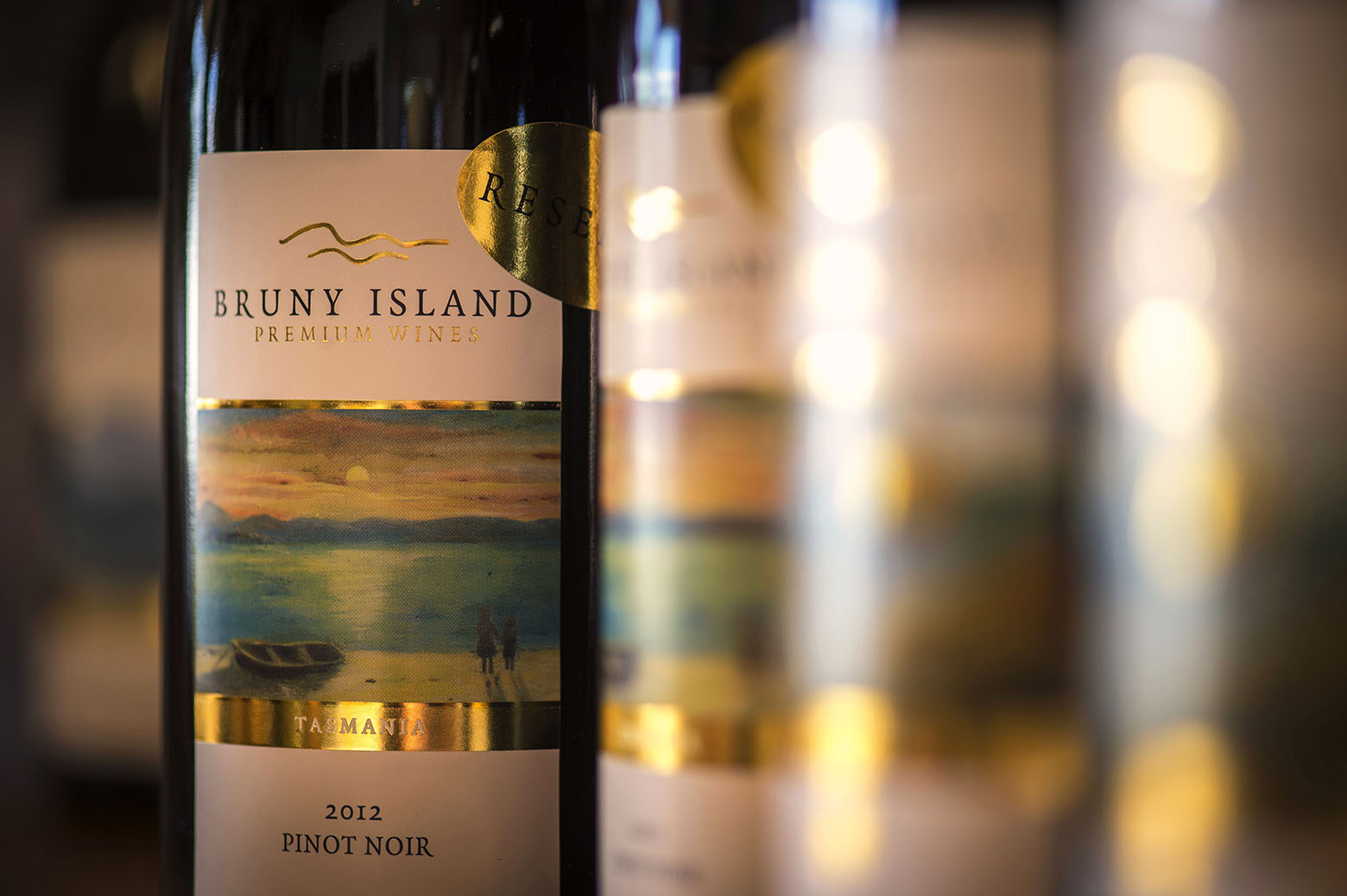 Taste Bruny Island Peremium Wines on Bruny Island Tours from Hobart