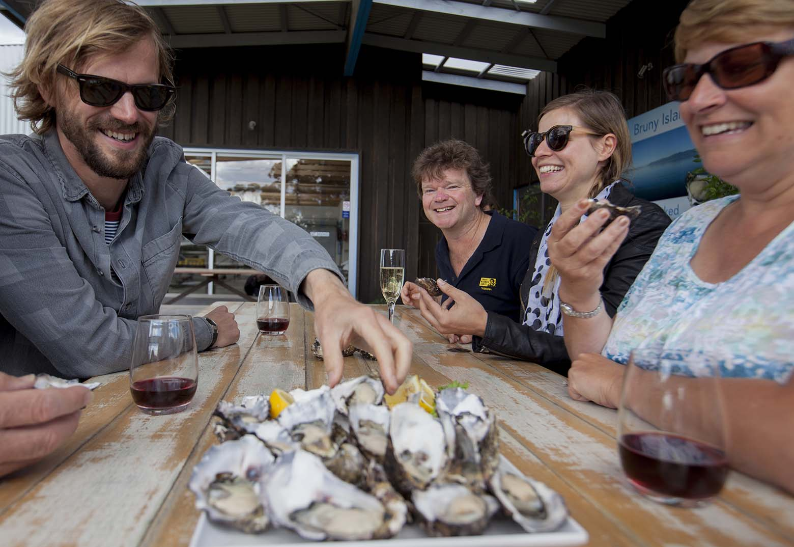 Taste Get Shucked Oysters on Bruny Island Tours from Hobart