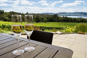 Stunning views from Coal Valley Vineyard