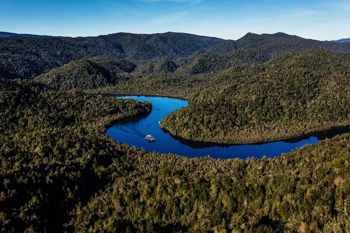 Experience the magic of the Gordon River | Photo: Gordon River Cruises
