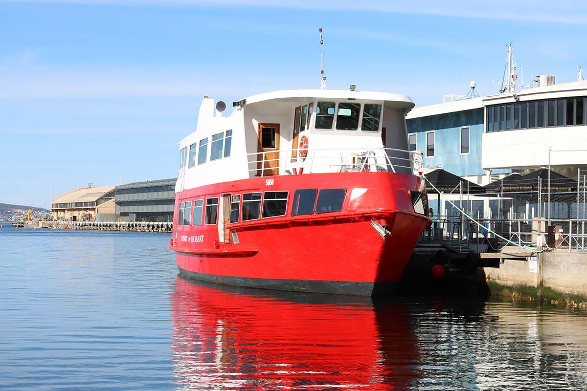 Spirit of Hobart - Hobart Historic Cruises