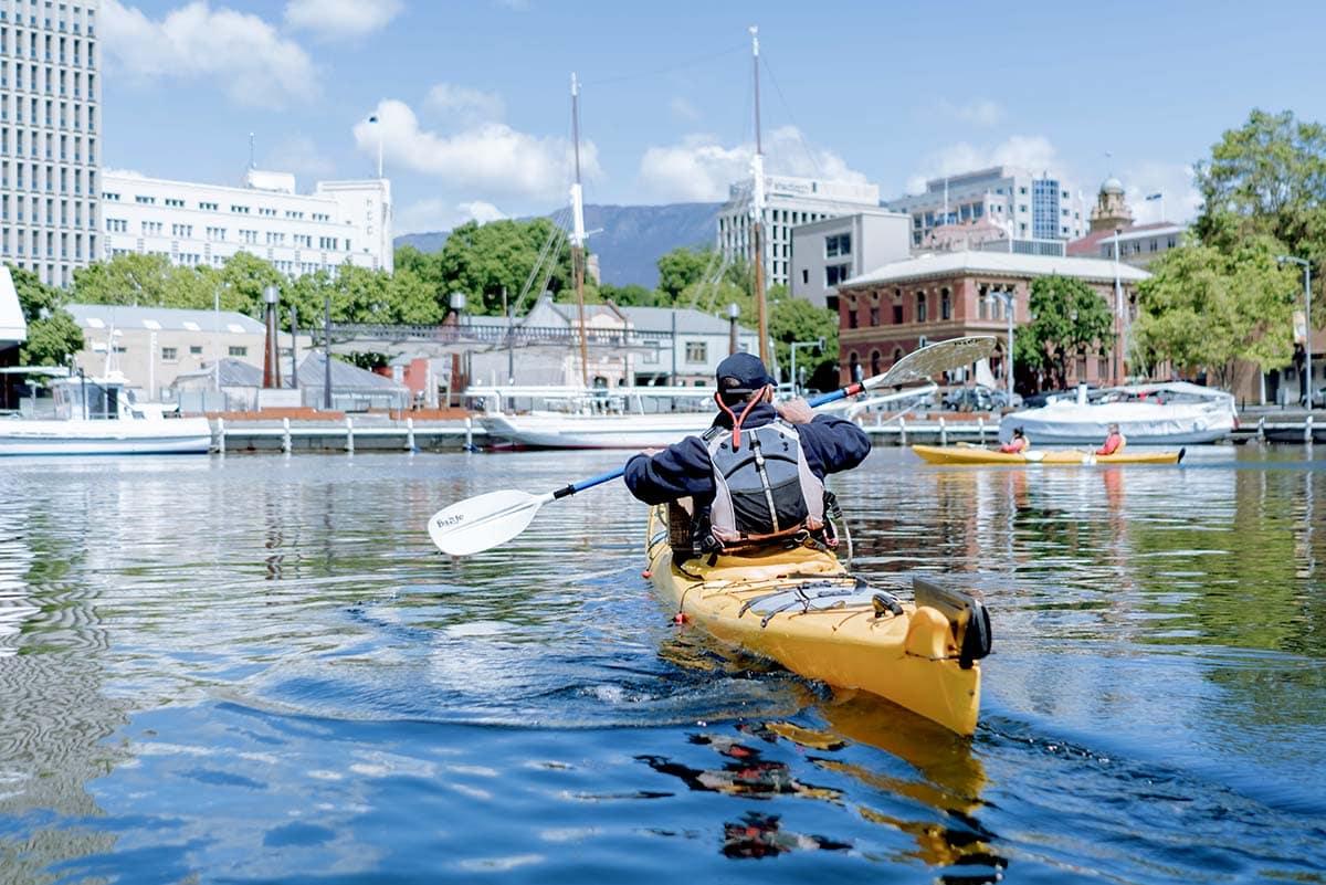 Roaring 40s Kayaking - Hobart City Paddle