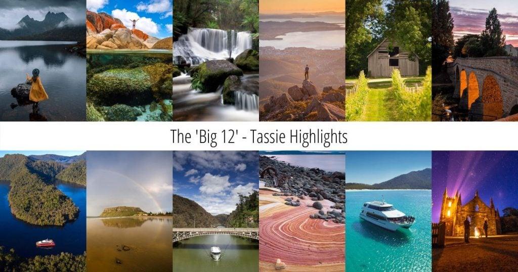 Tasmania Big 12 Highlights