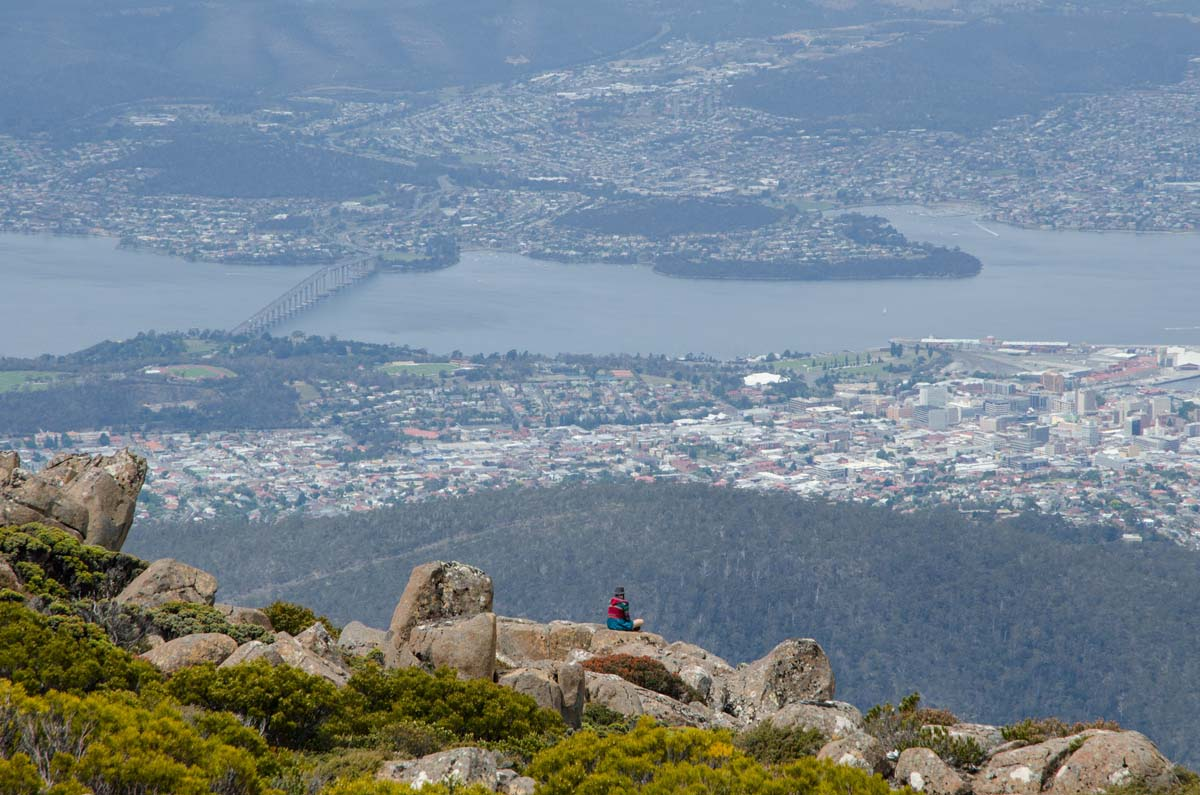 Mt Wellington Summit