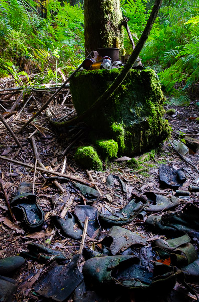 Old Boots - Mystery Creek Cave