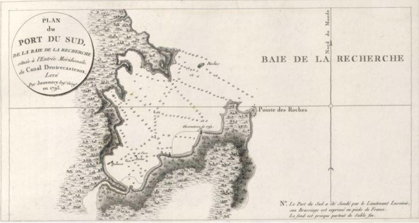 Southport Tasmania - Recherche Bay Map