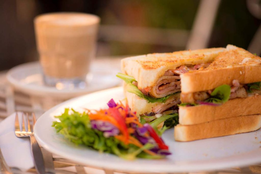 Tasty lunches at Ingleside Bakery Cafe in Evandale