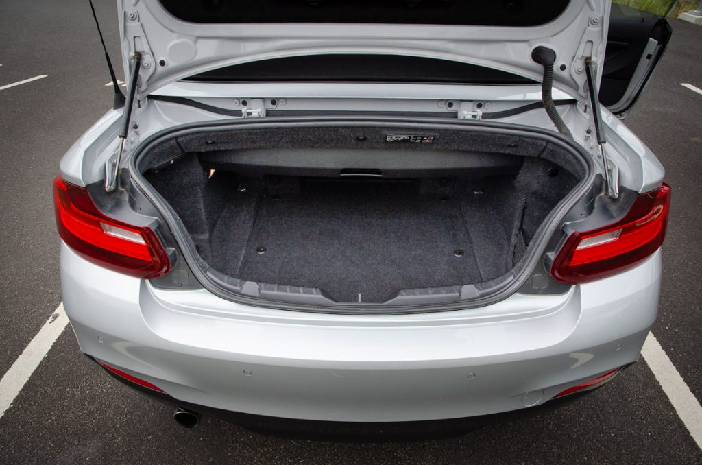 BMW 220i boot space