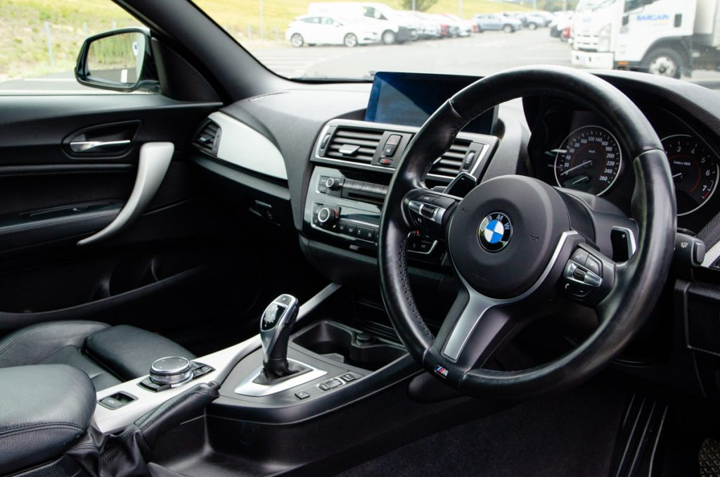 Compact yet perfectly laid-out interior of the BMW 220i