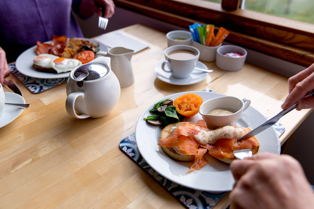 Ashdowns of Dover Bed and Breakfast Tasmania - Breakfast cooked to order